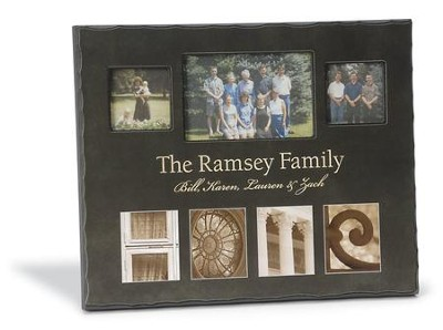 Personalized, Home Photo, Black, Large   -