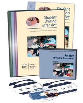 IEW Student Writing Intensive Level B (5 DVDs & Student Materials)   -