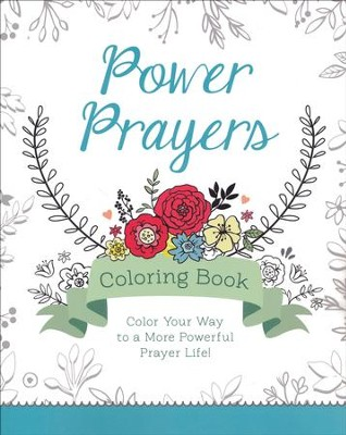 Power Prayers Coloring Book  -