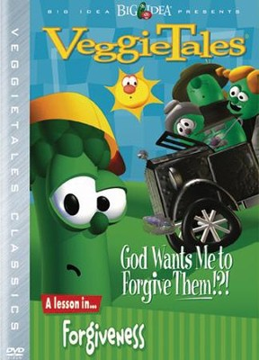God Wants Me to Forgive Them?!? Classic VeggieTales DVD, Reissued   -
