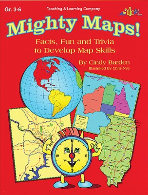 Mighty Maps! Grades 3-6  -     By: Cindy Barden