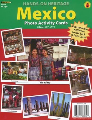 Mexico Photo Activity Cards  -