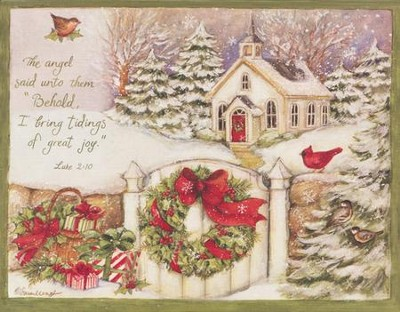 Gifts Of Christmas Christmas Cards, Box of 18  -     By: Susan Winget