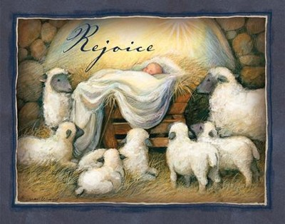Rejoice Christmas Cards, Box of 18  -     By: Susan Winget