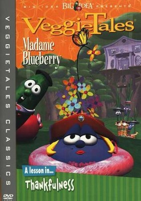 Madame Blueberry, Classic VeggieTales DVD, Reissued   -