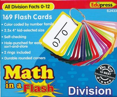 Math in a Flash Flashcards: Division  -