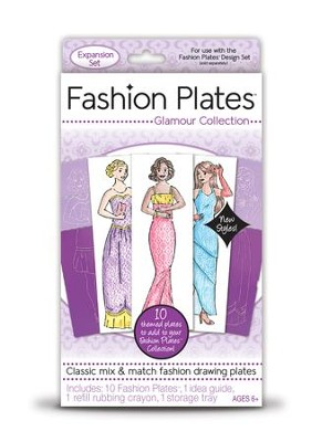 Glamour Fashion Plates, Expansion Pack  -