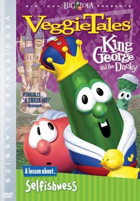 King George and the Ducky. Classic VeggieTales DVD, Reissued   -