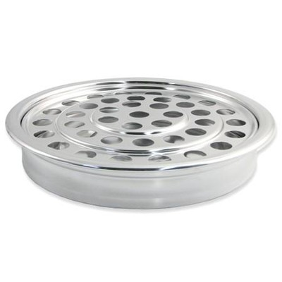 Polished Aluminum Communion Cup Tray  -