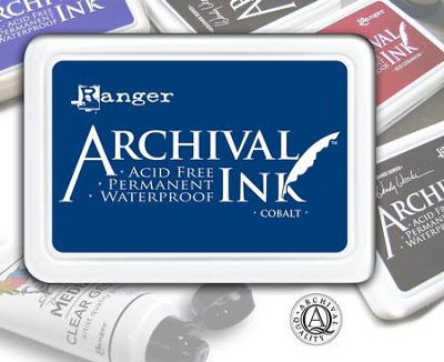 Archival Ink Pad - Cobalt  -