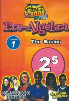 Pre-Algebra Module 1: The Basics DVD  -