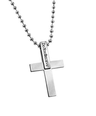 Do You Believe, Cross Pendant  -
