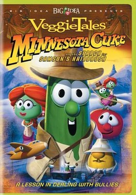 Minnesota Cuke and the Search for Samson's Hairbrush VeggieTales DVD  -