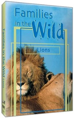 Families in the Wild - Lions DVD  -