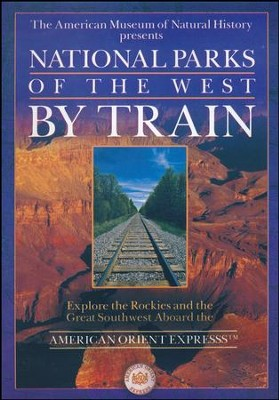 National Parks of the West by Train, DVD   -
