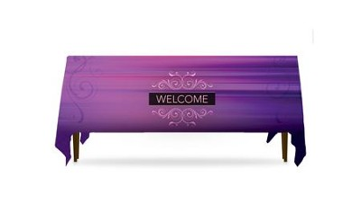Together Welcome Table Throw, 128 inches x 58 inches  -