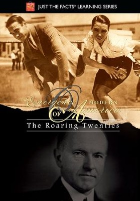 Emergence of Modern America: The Roaring Twenties DVD  -