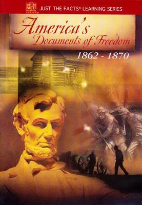 Just the Facts: America's Documents of Freedom 1862-1870 DVD   -