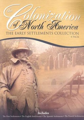 Just the Facts: Colonization of North America 4 Pack DVD   -