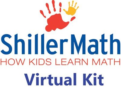 Shiller Math Virtual Kit I  (pre-K through 3rd grade)  -