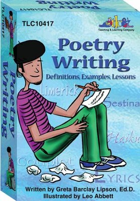 Poetry Writing Card Deck   -