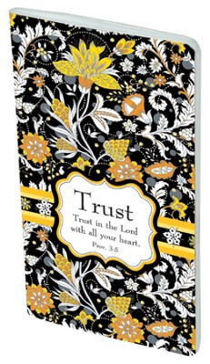 Paisley Pocket Notebook, Trust  -