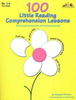 100 Little Reading Comprehension Lessons   -     By: Margaret Brinton