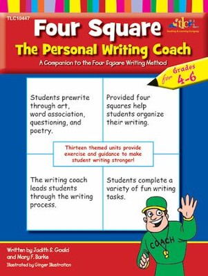 Four Square: The Personal Writing Coach for Grades 4-6   -     By: Judith S. Gould, Mary F. Burke