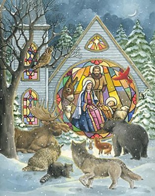 Stained Glass Window Advent Calendar  -