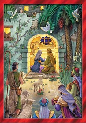 Peaceful Nativity Advent Calendar  -