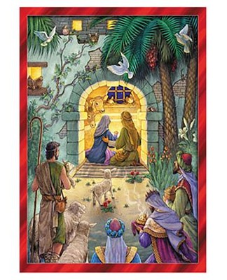 Nativity: Greeting Card Advent Calendar  -
