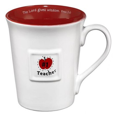 The Lord Gives Wisdom Teacher Mug  -
