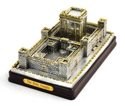 The Jerusalem Temple Statue: Silver Plated  -