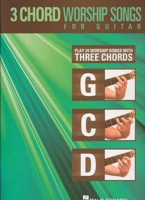 3-Chord Worship Songs For Guitar  -     By: Various Authors