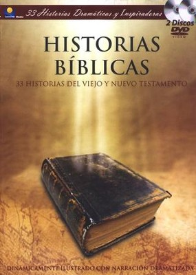 Historias Bíblicas (Bible Stories), 2 DVDs   -