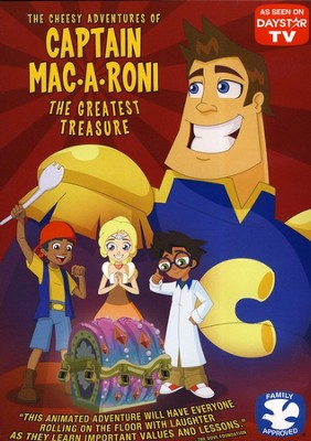 The Cheesy Adventures of Captain Mac.A.Roni:  The Greatest Treasure, DVD  -