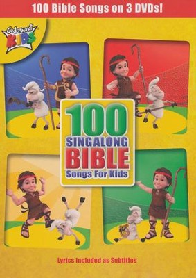 100 Singalong Bible Songs for Kids DVD   -     By: Cedarmont Kids
