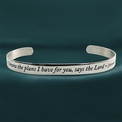 For I Know the Plans--Cuff Bracelet   -