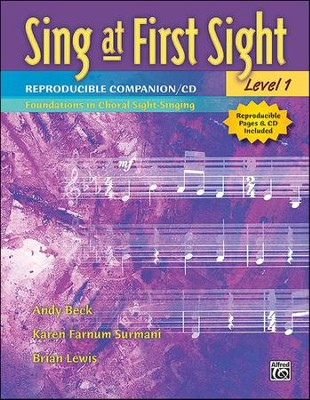 Sing at First Sight, Level 1 Reproducible Companion  -     By: Andy Beck, Karen Farnum Surmani, Brian Lewis
