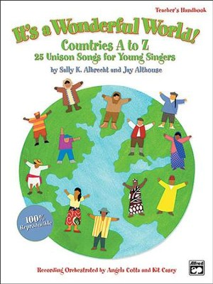 It's a Wonderful World (Countries A-Z)  -     By: Sally K. Albrecht, Jay Althouse