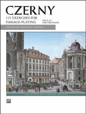 125 Exercises for Passage Playing, Op. 261  -     By: Carl Czerny, Maurice Hinson