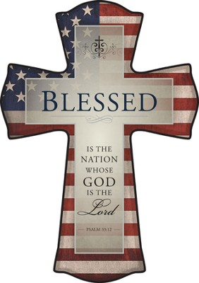 Blessed is the Nation Cross  -