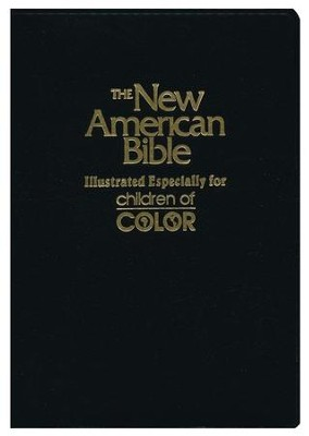 NAB Children of Color Bible, Black                             -     By: Bible