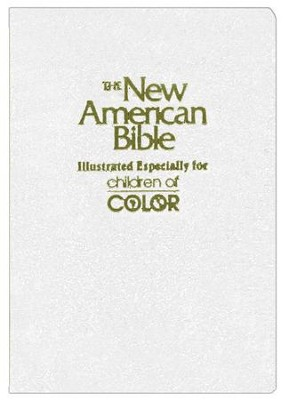 NAB Children of Color Bible, White                          -     By: Bible