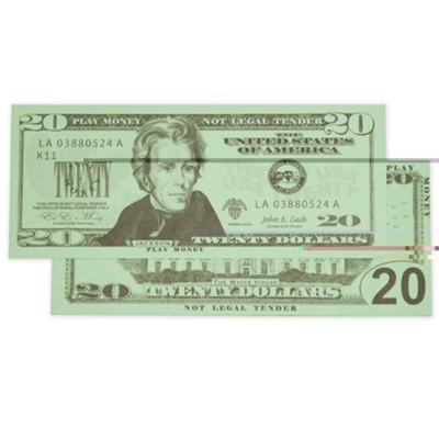 $20 Bills Set of 100  -