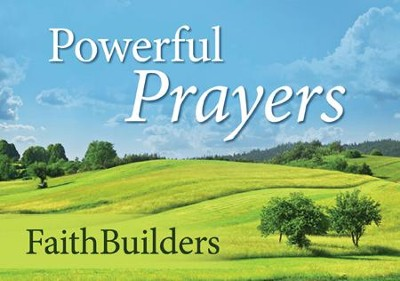 Faithbuilders Devotional Cards, Powerful Prayers  -