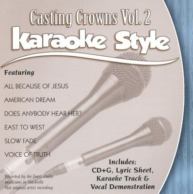 Casting Crowns, Volume 2, Karaoke Style CD   -     By: Casting Crowns