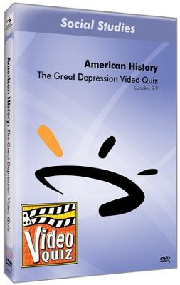 The Great Depression DVD  -