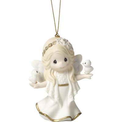In His Perfect Peace and Love, Angel Ornament  -