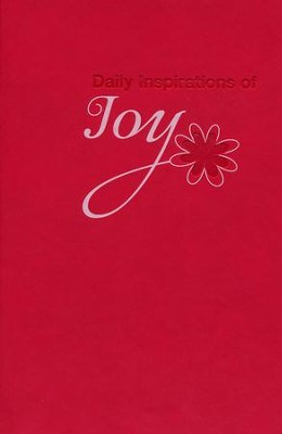 Daily Inspirations of Joy, Lux-Leather Devotional  -